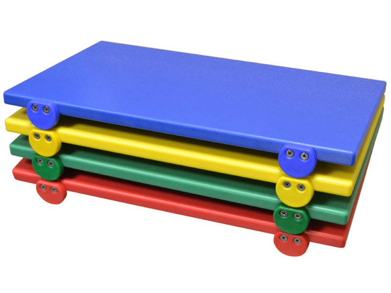 Taglieri per uso Professionale in Polietilene HMW per uso alimentare SPESSORE 6CM larg 40x50