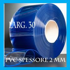 ROTOLO UN PVC TRASPARENTE SPESSORE 2mm larg, 30 cm lung.50 mt